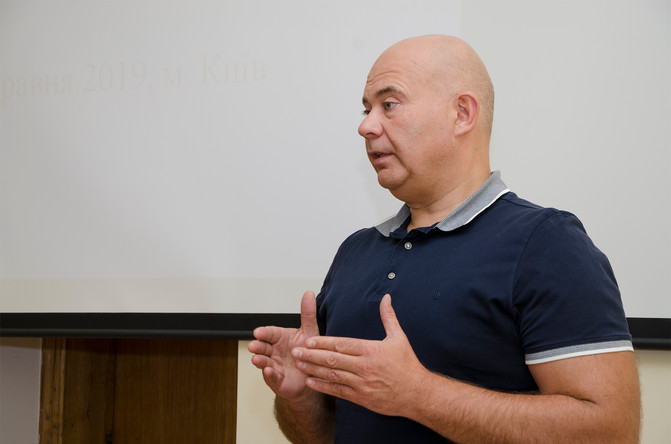 Доповідь віце-президента АСУ,                                                      професора Скрипні