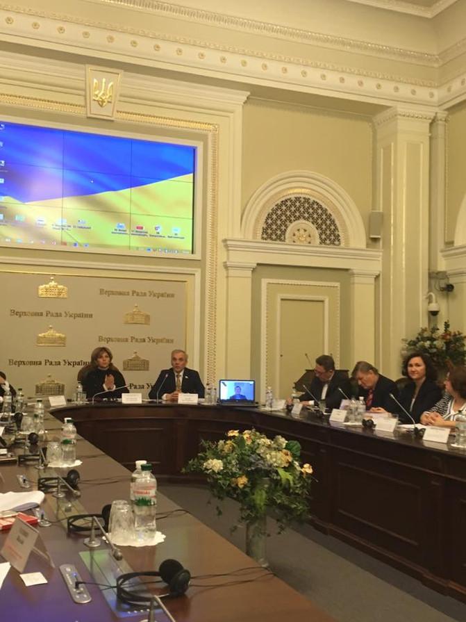 Засідання «круглого столу» на тему: «Партнерство в публічному управлінні охороною здоров'я для підви