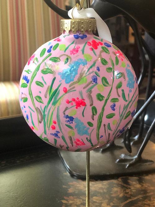 Wildflower Ornament, Pink no.1
