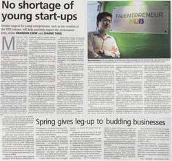 Talentpreneur - THE BUSINESS TIMES
