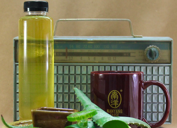 Homemade Honey Aloe Vera Herbal Drink