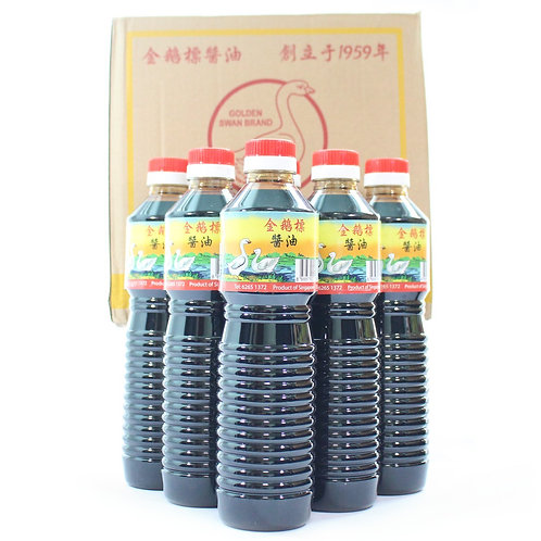 6 Bottles Golden Swan Brand Dark Soy Sauce