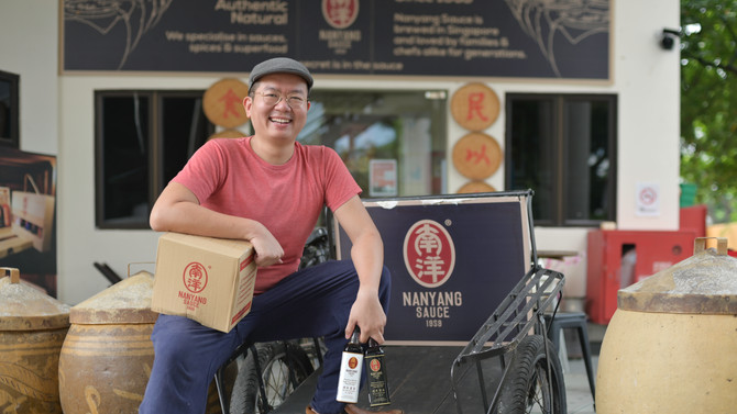 Nanyang Sauce is featured on The Straits Times - Made in Singapore Series