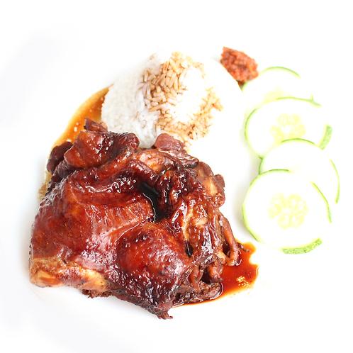 Nanyang Chicken with Rice