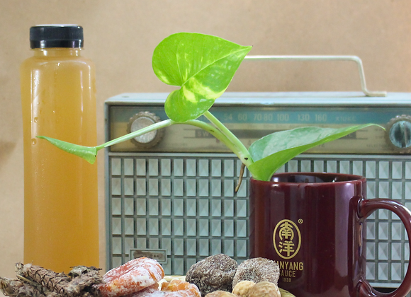 Homemade Cough Relief Herbal Drink