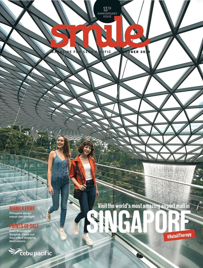 Nanyang Sauce is featured in Smile Magazine by Cebu Pacific Airlines