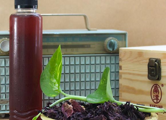 Homemade Roselle Herbal Drink