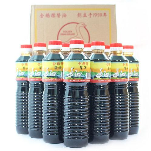 12 Bottles Golden Swan Brand Dark Soy Sauce