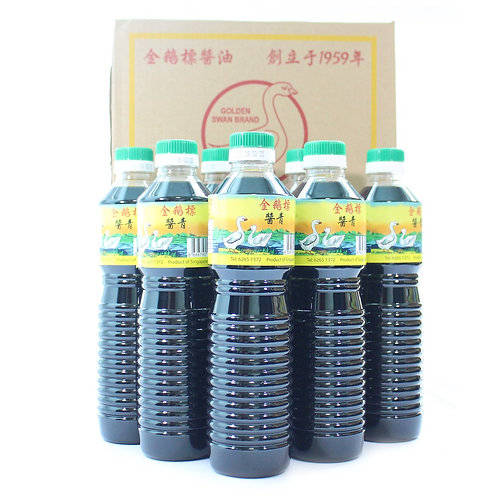 6 Bottles Golden Swan Brand Light Soy Sauce