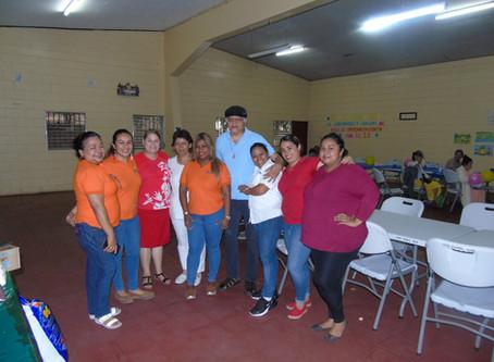Visita al Asilo de Ancianos Salvador Aguirre
