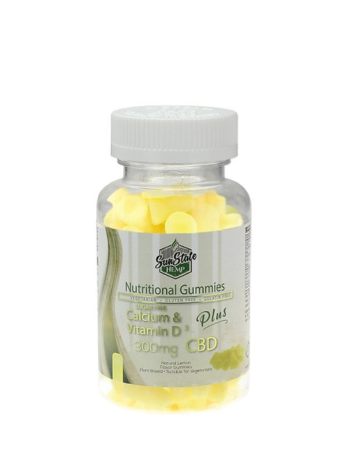 Vitamin gummies - calcium & vitamin D sugar free
