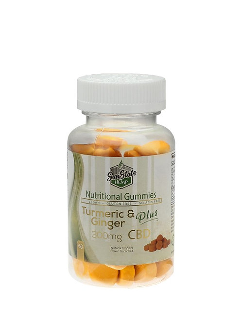 Vitamin gummies turmeric and ginger