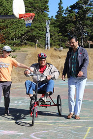 The Aphasia Network: Aphasia Camp Northwest Adventure Weekend, adapted biking