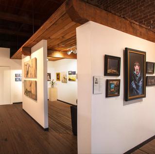 Main gallery, looking into nook