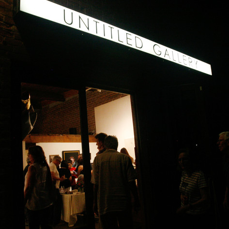 Untitled Gallery is OPEN! Thank you friends, for celebrating with us!