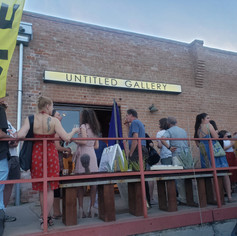 We are Untitled! That's right, can't pin us down!   Thank you for a wonderful reception, Tucson!
