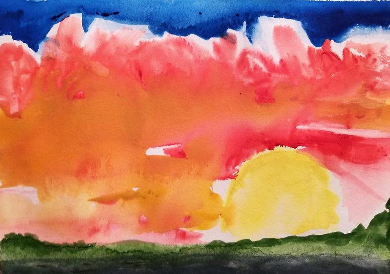 O'Keeffe Sunset