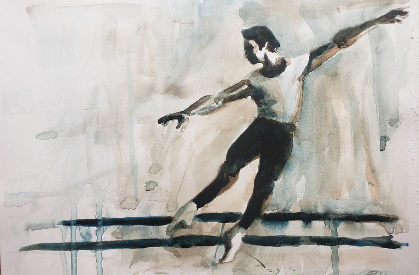 Russian Ballet School c 1970  #1