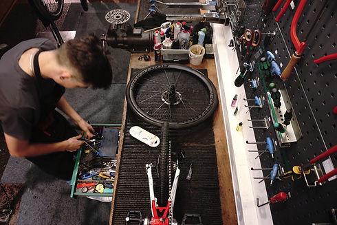 fahrrad schaltung reperatur platten kette service inspektion nandlinger ebike fahrrad pedelecg