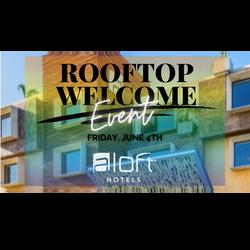 rooftop welcome