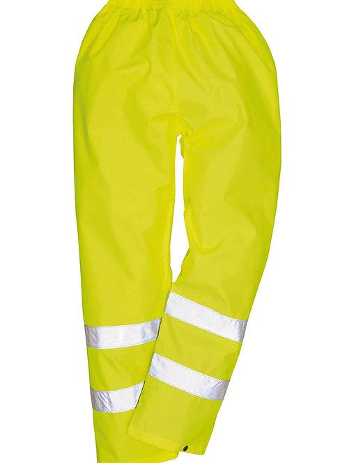 PW012 Hi-vis rain trousers (H441)