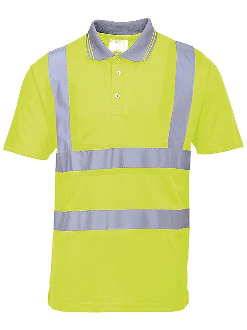 PW024 Hi-vis polo shirt (S477/RT22)