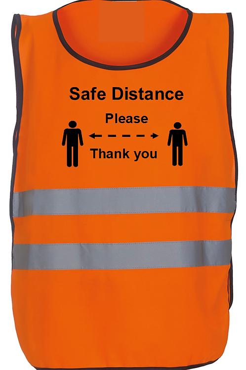 SAFE DISTANCE HI VIS TABARAD - ORANGE