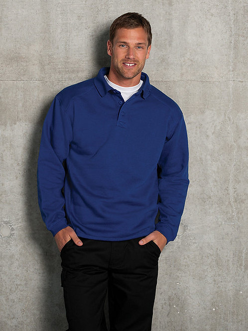 J012M Heavy duty collar sweatshirt