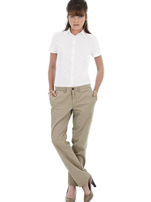 BA709 Oxford short sleeve /women