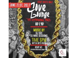 Cove Lounge 5th Anniversary- Wednesday June 21st