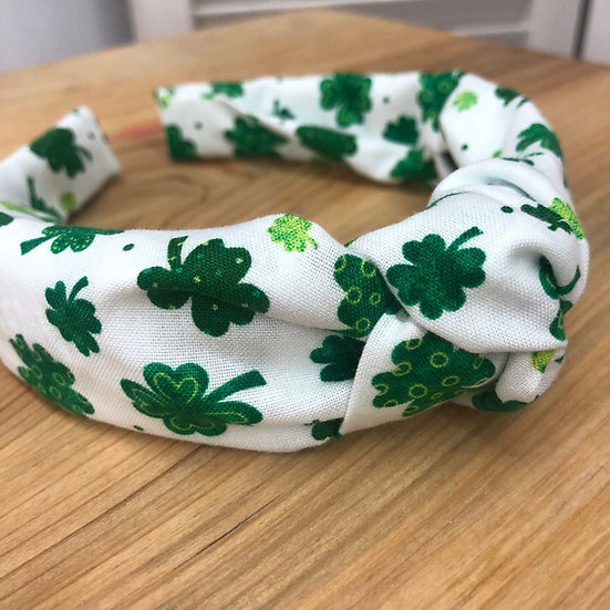 St. Patrick's Day Knot Headband