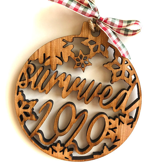 Survived 2020 Ornament