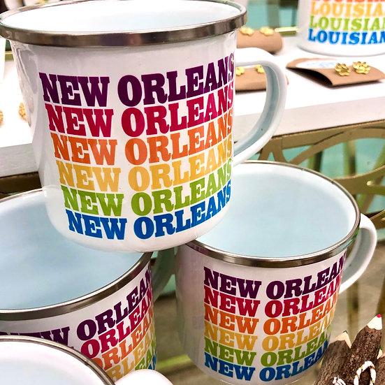 Rainbow New Orleans Mug