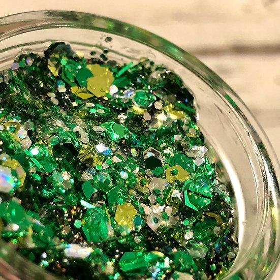 St. Patrick's Day Glitter Gel