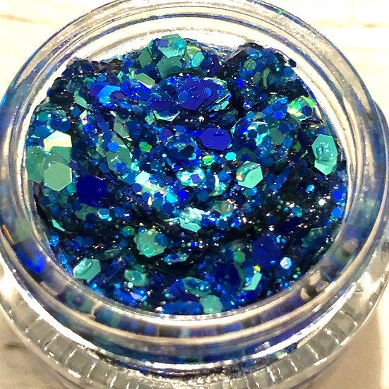 Rhythm and BLUES Glitter Gel