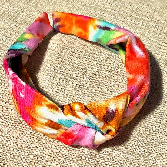 Tie Dye Knot Headband