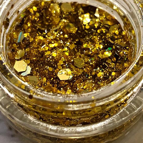 City of GOLD Glitter Gel
