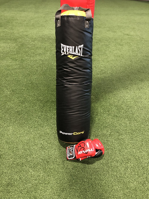 Heavy Bag and Gloves