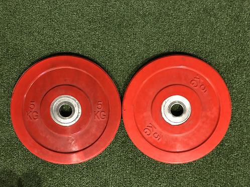 Pair of 5kg Plates
