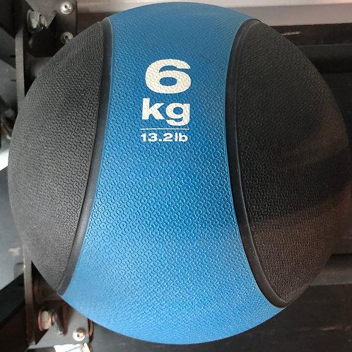 6kg Rubber Med Ball