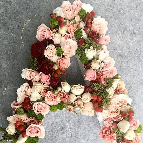 Letras en Flores