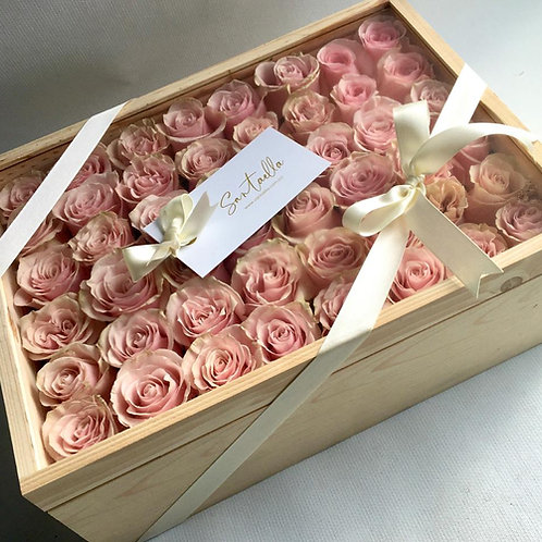 Box Deluxe Rose