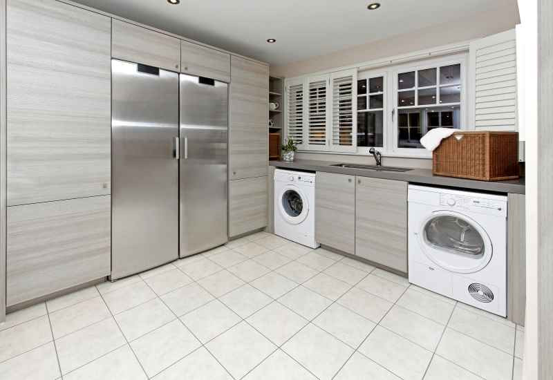 practical laundry room space