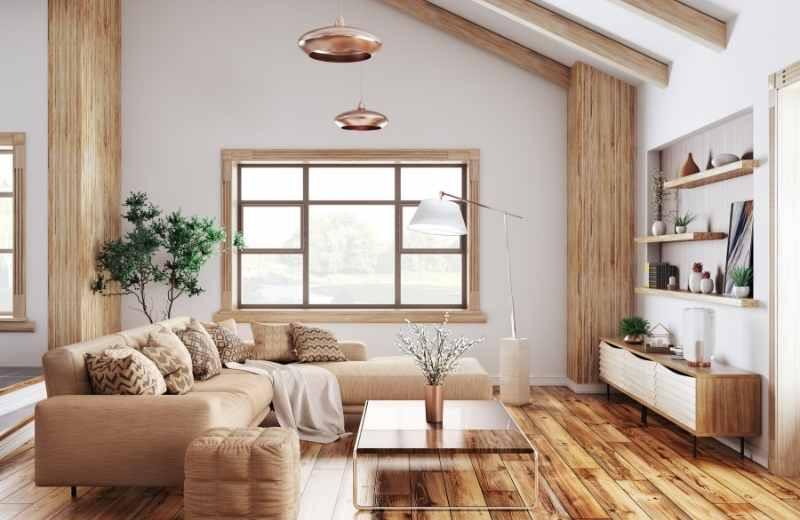 mix metals living room