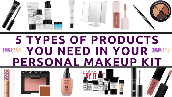 5 Types of Products You Need in Your Personal Makeup Kit