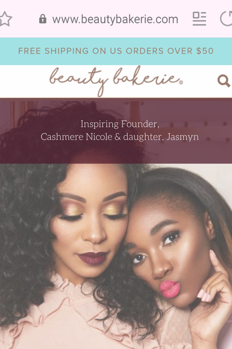 Beauty Bakerie Website owner Cashmere Nicole