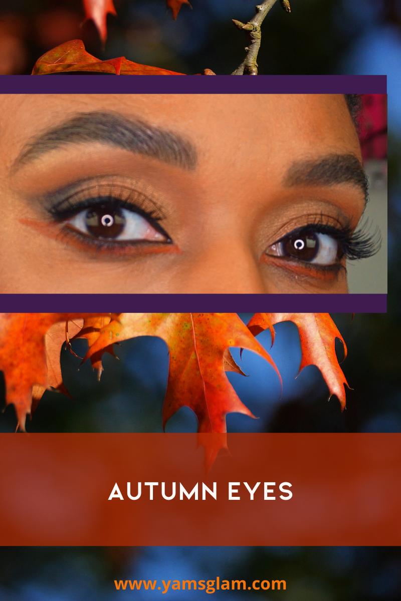 Autumn Eye Makeup