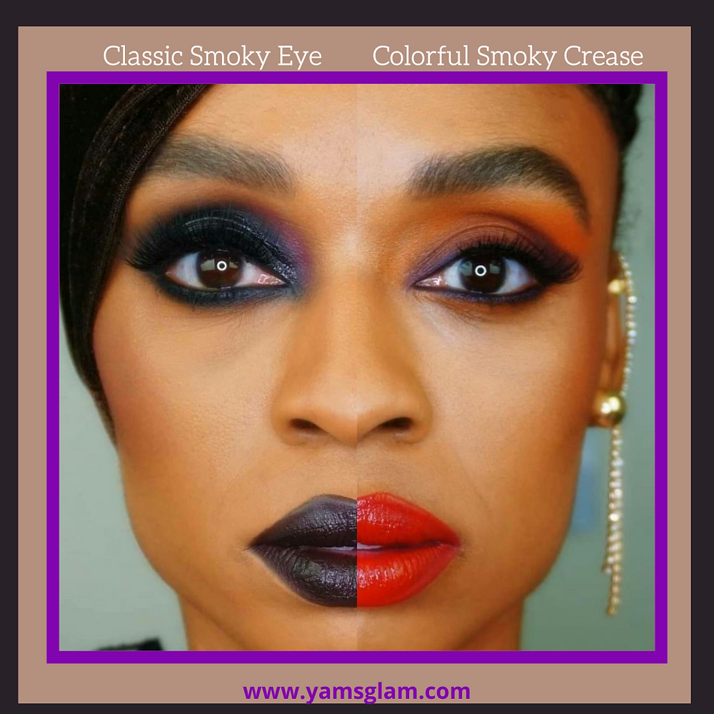 Classic Smoky Eye and Colorful Smoky Crease