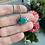 Thumbnail: Hubei Turquoise Evil Eye Necklace
