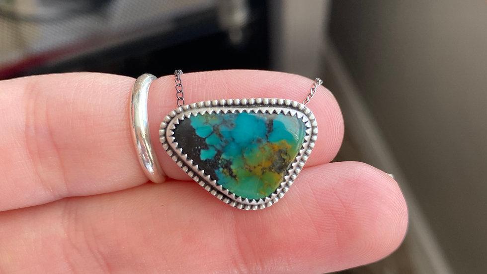 High Grade Blue Bao Canyon Necklace